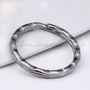 Nickel Plated Steel Ripple Split Rings